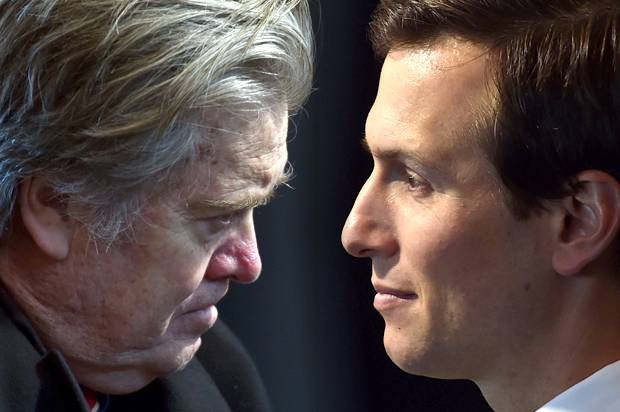 Image result for kushner bannon