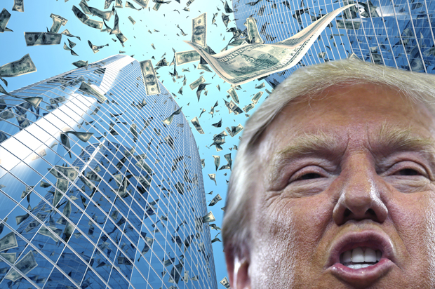 "by Donald Trump's ""tax reform"" talk -- just like Trumpcare, his plan ..."