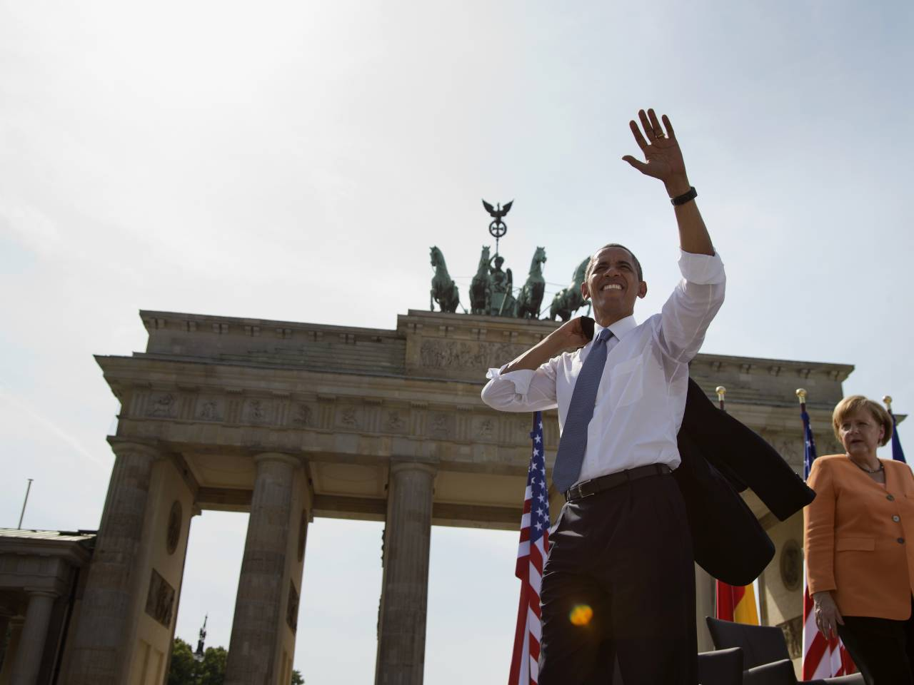 Security high in Berlin ahead of Obama visit