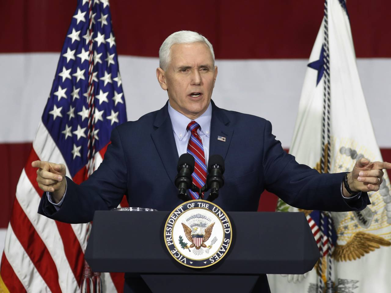 Mike Pence responds to Trump's Twitter humiliation of Jeff Sessions