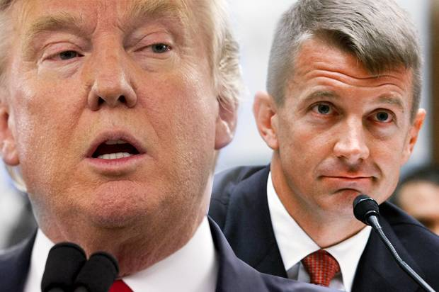 Blackwater founder Erik Prince cites East India Company as a model to privatize Afghanistan war