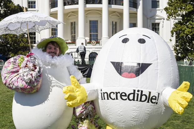 Image result for For 138 years, the annual Easter Egg Roll in white house
