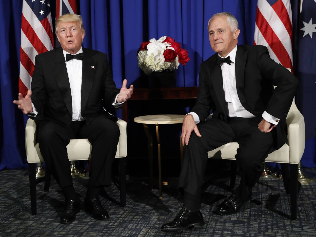 Malcolm Turnbull says Donald Trump like 'family' after pair's first meeting
