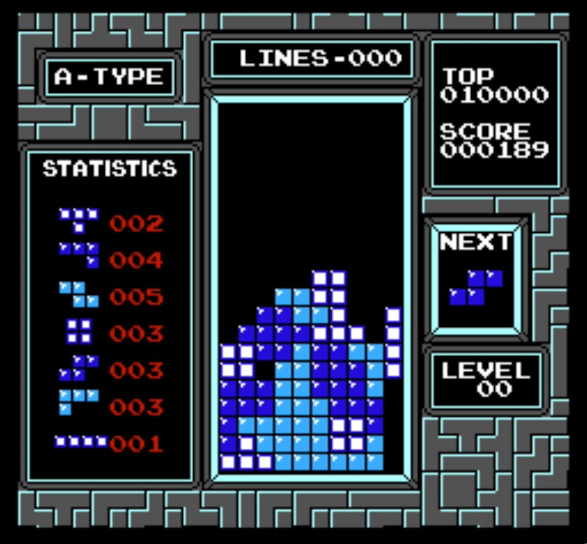 Tetris copy