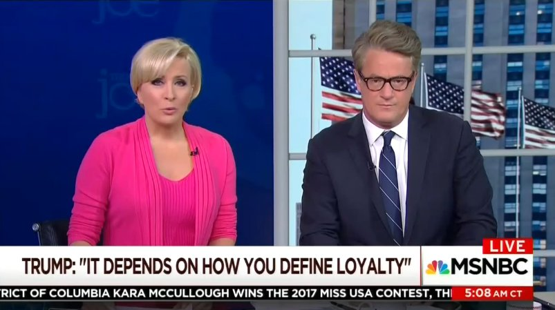 'Morning Joe' Hosts: Conway Said She Needed A Shower After Defending Trump