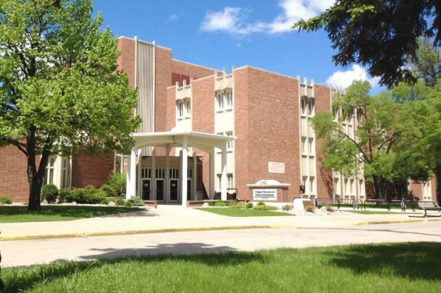 University of North Dakota Gamble Hall