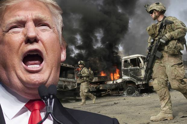 Our bellicose president wants to continue a 16-year quagmire in Afghanistan