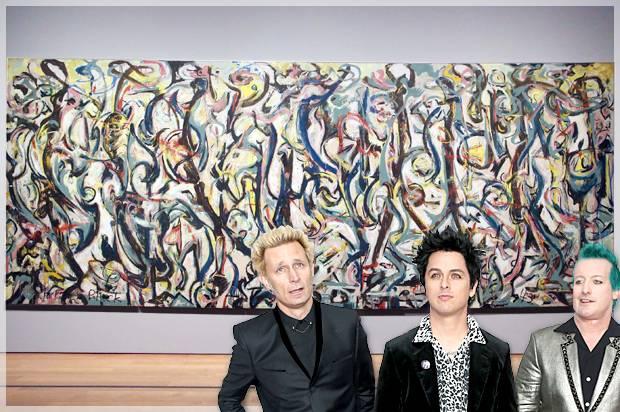 Green Day; Jackson Pollock