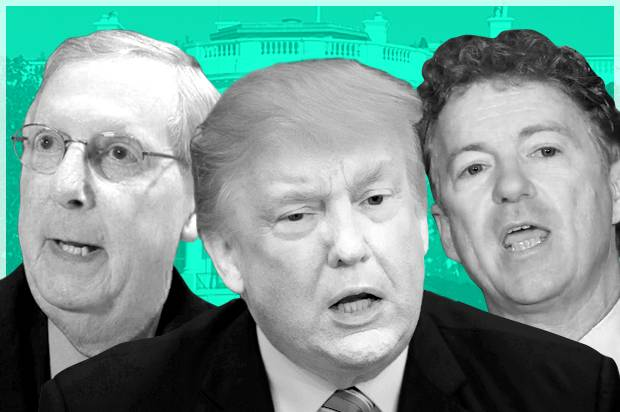 Mitch McConnell; Donald Trump; Rand Paul