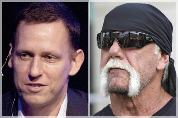 Peter Thiel; Hulk Hogan