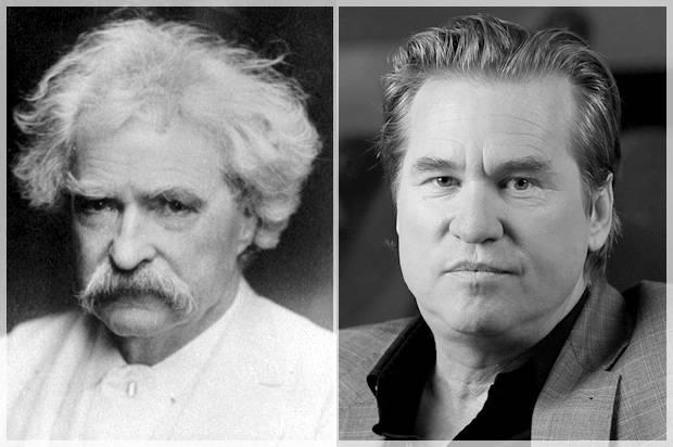 Mark Twain; Val Kilmer