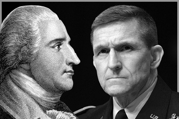 Image result for MICHAEL FLYNN BENEDICT ARNOLD PICTURE PAIRS