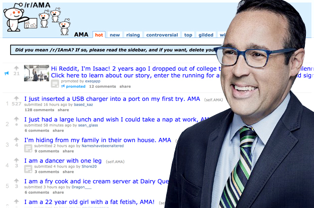 CNN editor Chris Cillizza's Reddit AMA goes about as well as