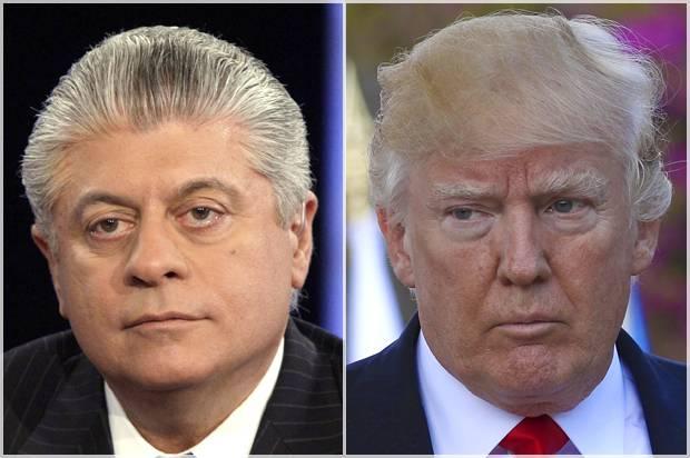 Andrew Napolitano; Donald Trump