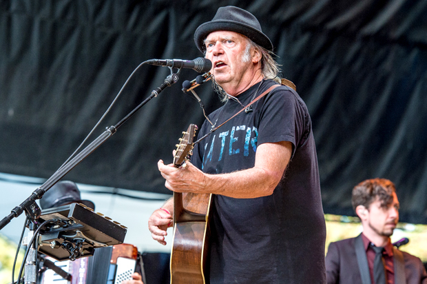 """Neil Young drops the political, anthemic """"Children of ..."""