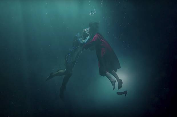 """See the trailer for Guillermo del Toro's gross, lovely """"The Shape of Water"""""""
