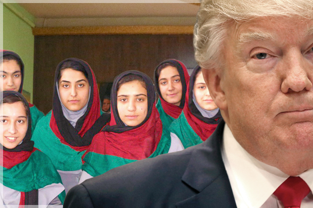Afghanistan's female robotics team denied visas by US State Department