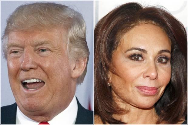 Donald Trump; Jeanine Pirro
