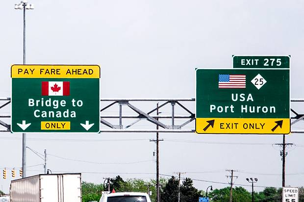 Checkpoint, U.S.A.: Crossing the border into Trump's America