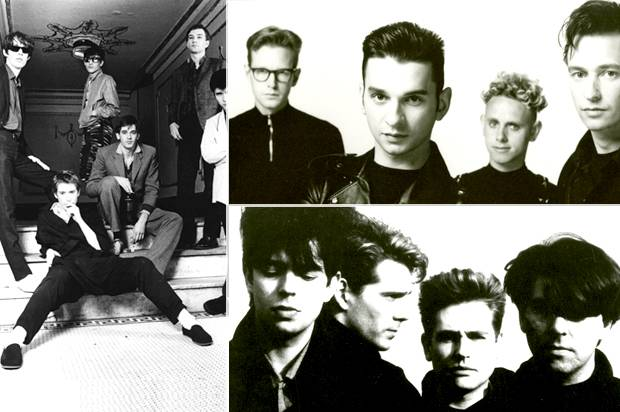 The Psychedelic Furs; Depeche Mode; Echo & the Bunnymen