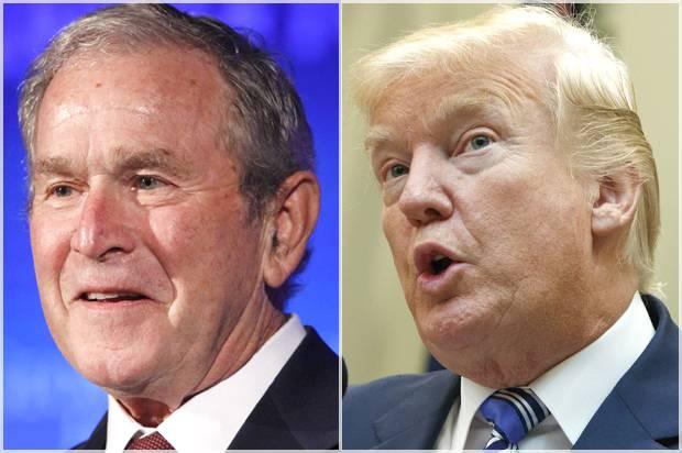 George W. Bush; Donald Trump