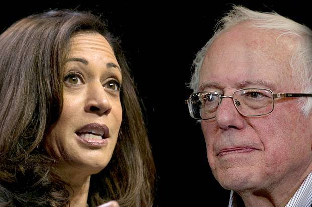 Kamala Harris; Bernie Sanders