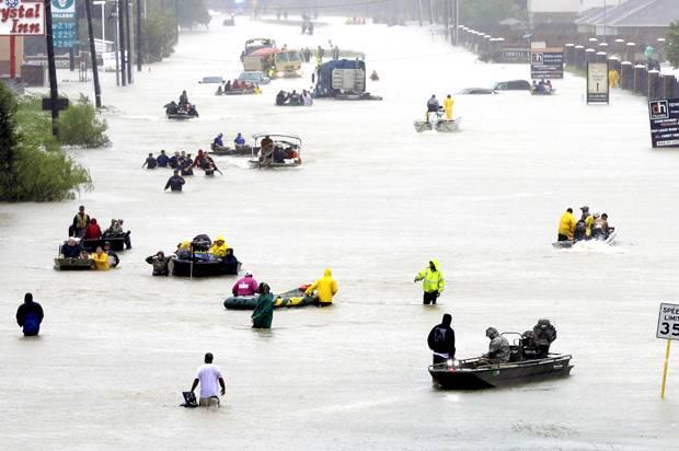 Harvey Flood evacuees