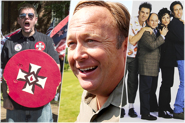 """Alex Jones: Charlottesville protesters are really """"just Jewish actors"""""""