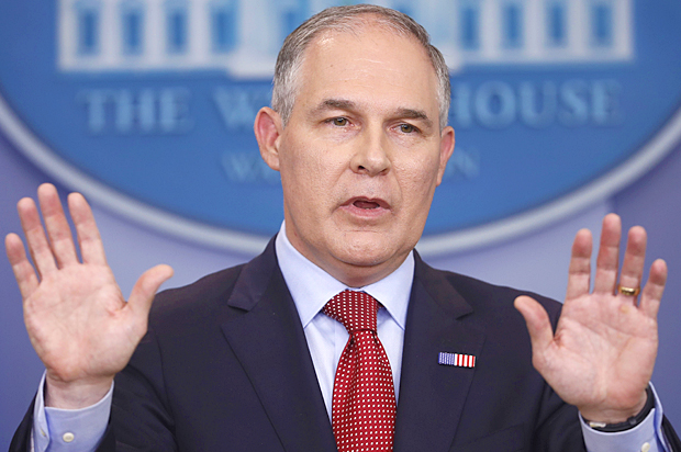 EPA's climate website removes resources to fight climate change