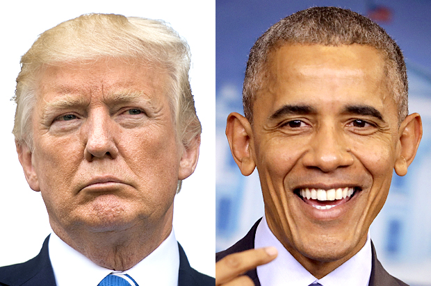 Trump 'eclipses' Obama in Tweet