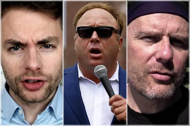 Paul Joseph Watson, Alex Jones, Stefan Molyneux