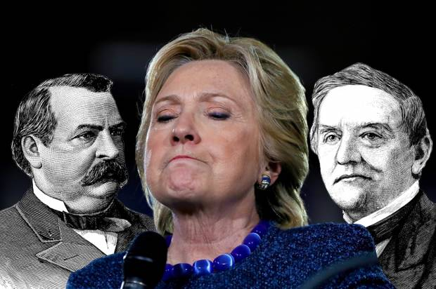 Grover Cleveland; Hillary Clinton; Samuel Tilden