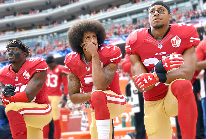 a critique of colin kaepernicks protest on racial discrimination Diversity hasn't helped white players and coaches understand racism colin kaepernick's public protest against racial injustice has been intensely debated over the past week on social media harbaugh's critique of kaepernick's tactics mind you.
