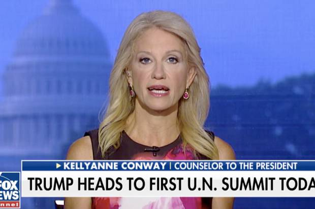 Kellyanne Conway doesn't like the Emmys, but likes how Kate McKinnon played her