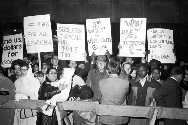 Anti-Vietnam War Protest