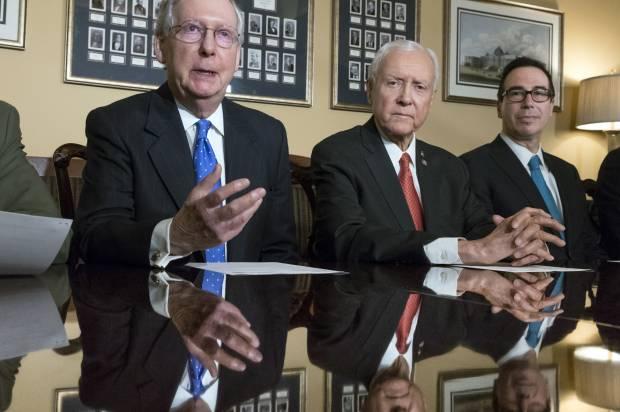 GOP tax bill is second-most unpopular legislation in 30 years