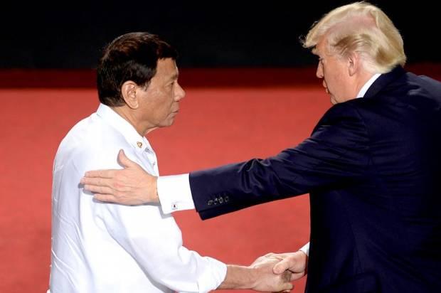 Rodrigo Duterte; Donald Trump