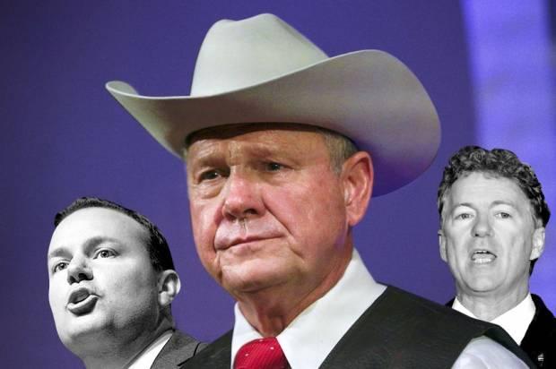 Mike Lee; Roy Moore; Rand Paul