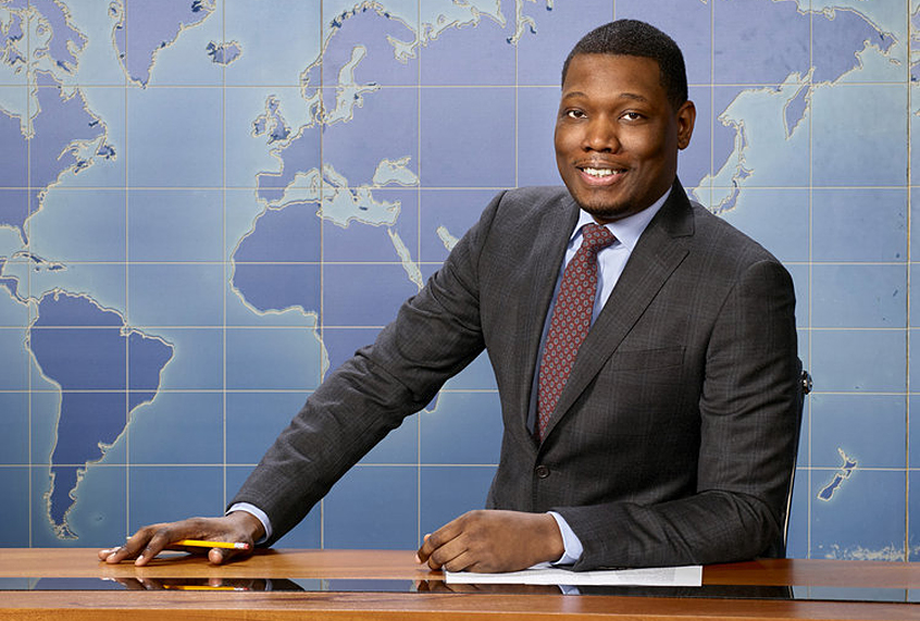 With the promotion of Michael Che,