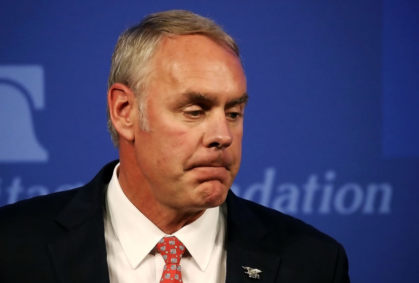 Trump S Interior Secretary Shameless Tool Of Oil And Gas Industries