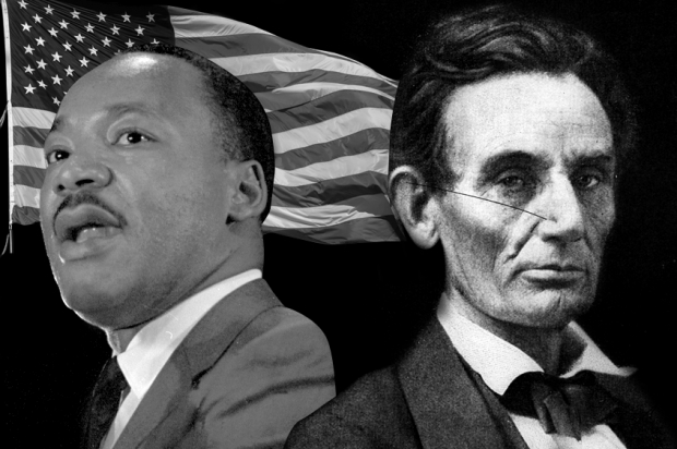 Martin Luther King Jr.; Abraham Lincoln