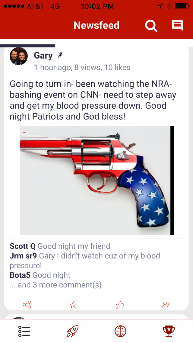 how the nra uses an app to organize opposition to gun control