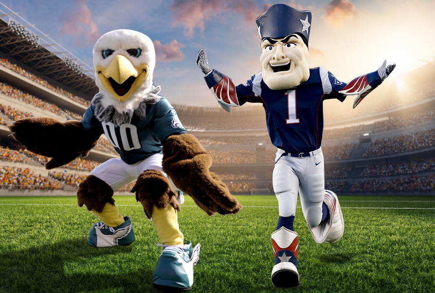 Patriots vs. Eagles: The perfect Super Bowl match-up for ...