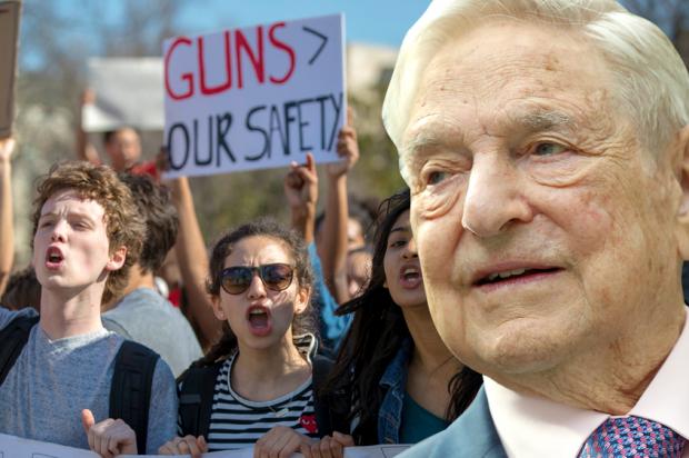 George Soros; Parkland Protest