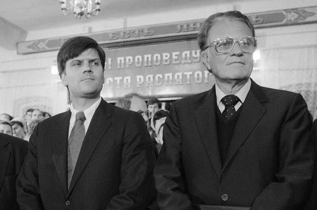 Franklin Graham, Billy Graham