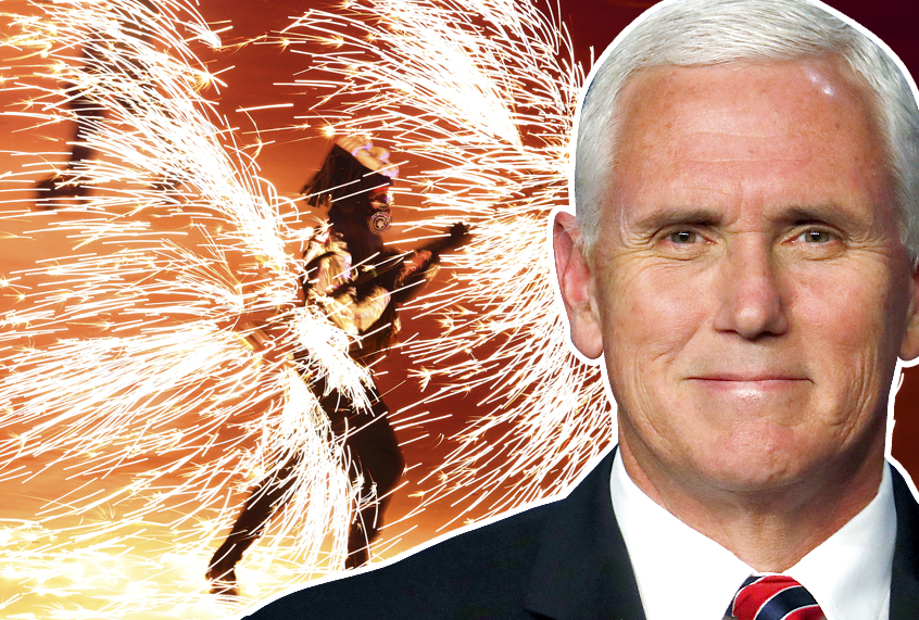 A major opening at the Pyeongchang Olympics — but not from Mike Pence