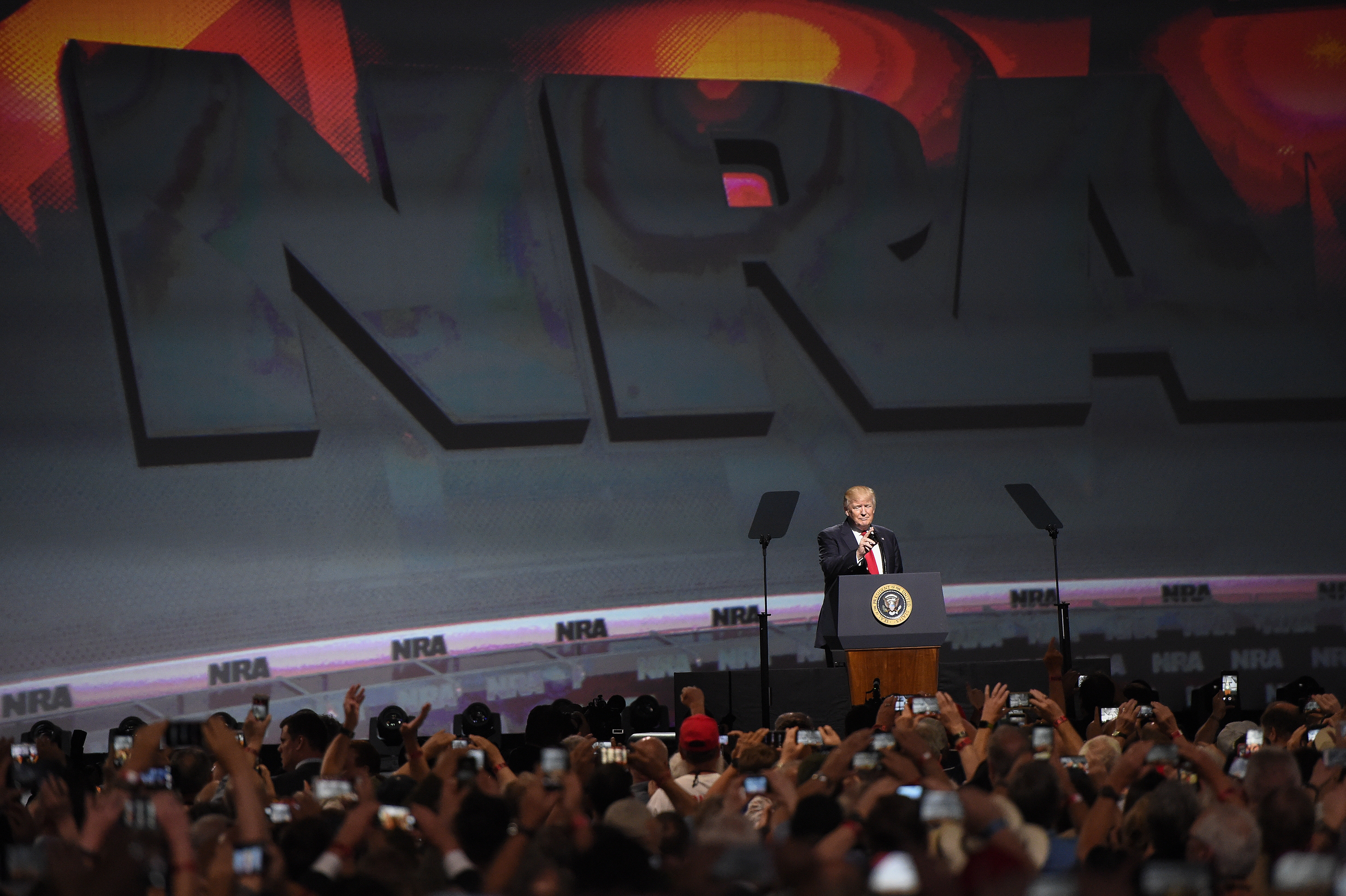The National Rifle Association is no longer just an American