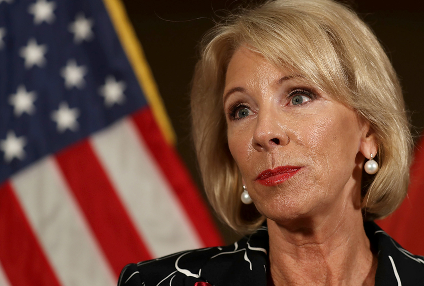 Betsy Devos Ignorance Is Not Compelling >> Betsy Devos Goes On 60 Minutes Displays Her Ignorance Salon Com