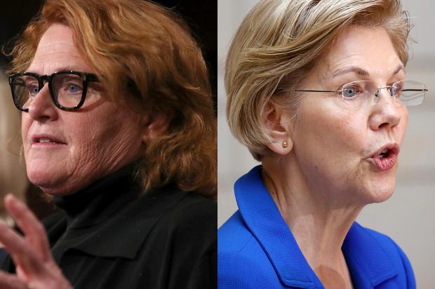 Heidi Heitkamp; Elizabeth Warren