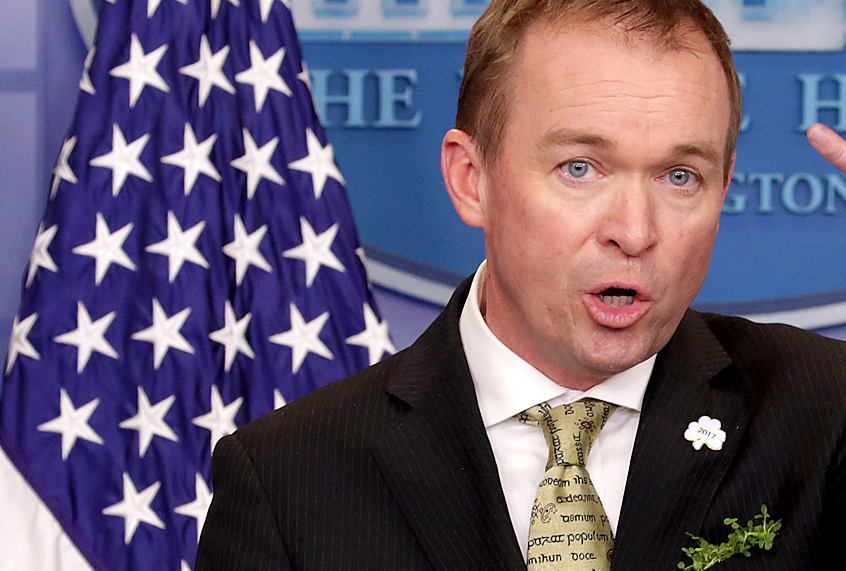 d1a7511a8 Raise a glass with Mick Mulvaney: Dark-hearted leprechaun of St. Paddy's Day  evil